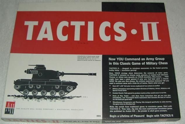 Tactics II cover